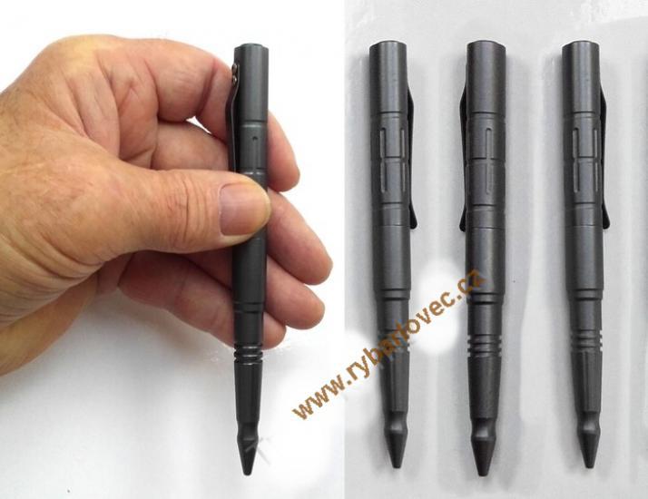 Taktický nástroj pro sebeobranu kubotan pero titan