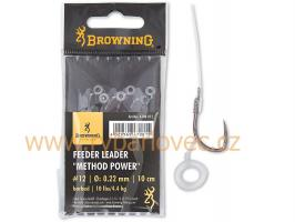 Návazec feeder Browning Method Power Pellet Band14