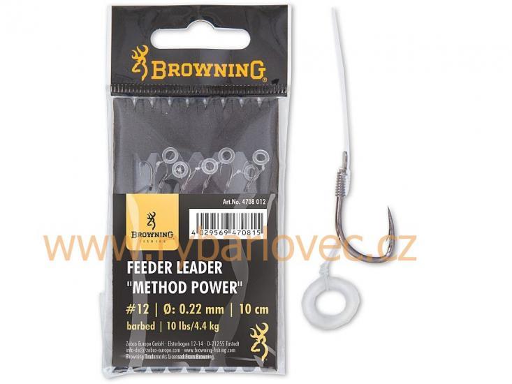 Návazec feeder Browning Method Power Pellet Band14