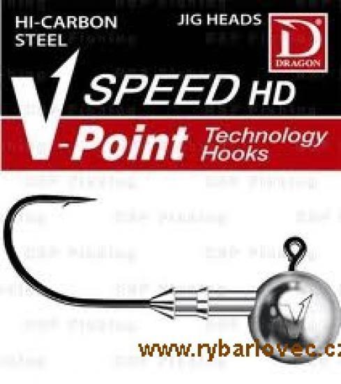 Jigová hlava Dragon V-Point Speed 17,5g/vel.1/0
