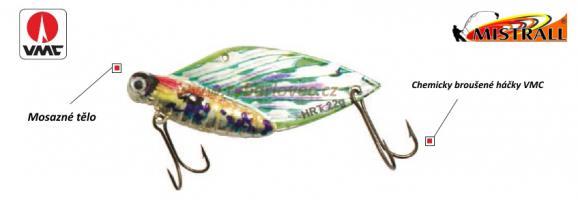 Třpytka Mistrall Cikáda 9g/4cm motýl