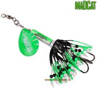 MADCAT Rattlin Teaser Spinner 85g green