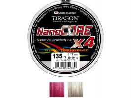 Šňůra Dragon Nanocore X4 0,21mm/135m