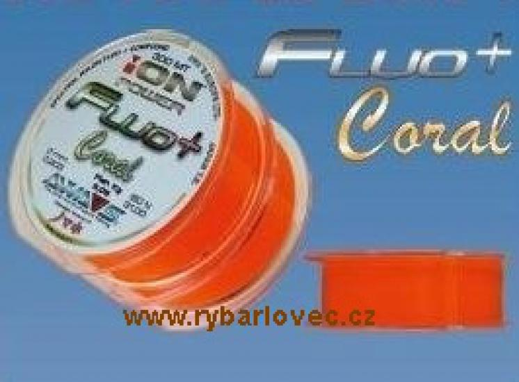 ION power Fluo+ Coral 0,331mm 2x300m