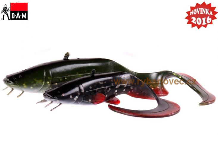 Gumová nást. DAM Real Life Catfish loose body 25cm