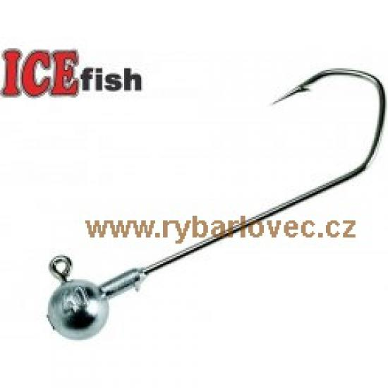 ICE fish Jig hlava SEA GURU 6/0 - 80g - 3ks/bal.