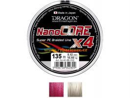 Šňůra Dragon Nanocore X4 0,10mm/135m