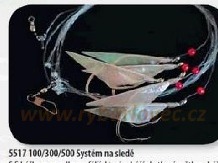Návazec Paternoster Albastar 135cm 5517 500
