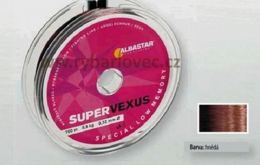 Vlasec ALBASTAR super vexus 0,12mm/1,5kg/100m