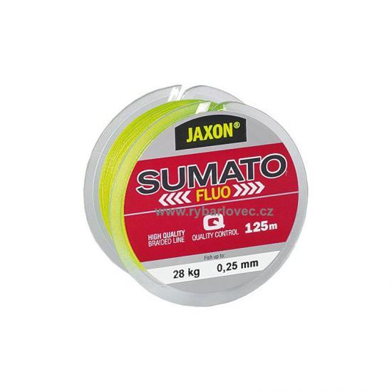 Šňůra Jaxon Sumato Fluo 0,28mm/125m/33kg